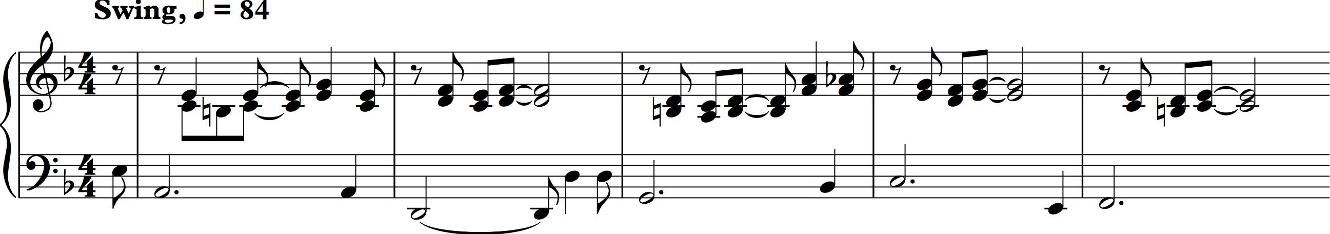 Various Counterpoint In Rhythm