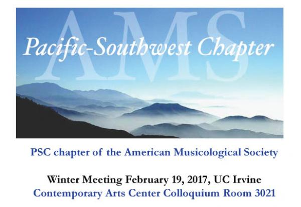 Pacific Southwest Chapter of the AMS meets Feb  18